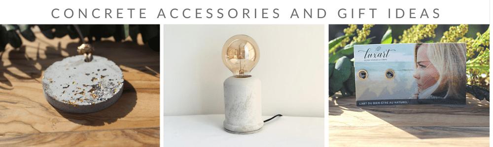 Accessoires de béton et idées cadeaux (3)